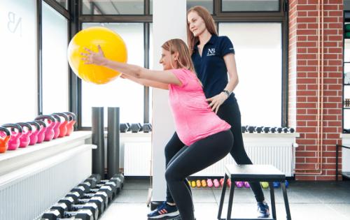 Trening dla kobiet w ciąży i po porodzie